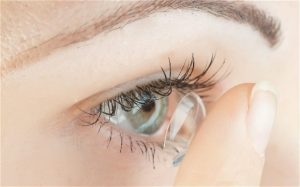 contact lens wear